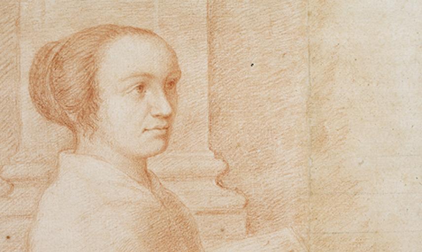 Portrait of Claudine Bouzonnet