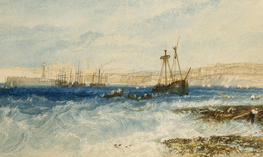 Margate Seascape, JMW Turner wa_1861_7-a