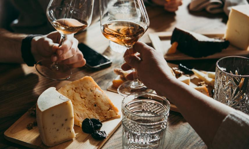 Wine and Cheese evening at the Ashmolean