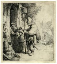 Rembrandt van Rijn (1606 - 1669): The rat catcher