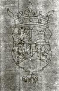 Watermark in the paper used by Rembrandt.