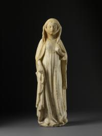 Figure of a standing woman, anonymous, French