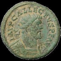 A unique Roman coin of Allectus